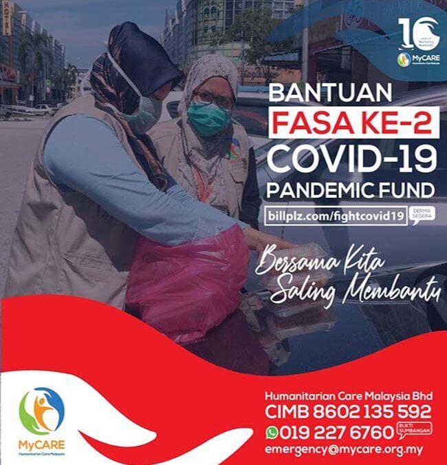 """UPDATE TERKINI: Bantuan Fasa ke-2 """"Tabung Bantuan Kecemasan COVID-19"""""""