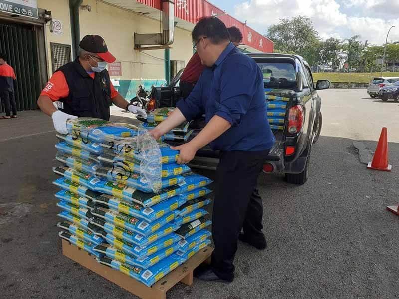 Persediaan penyaluran untuk penduduk Johor yang memerlukan