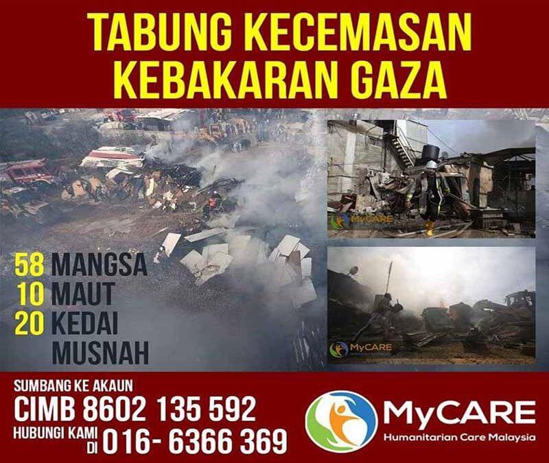 Tabung Kecemasan Kebakaran Gaza