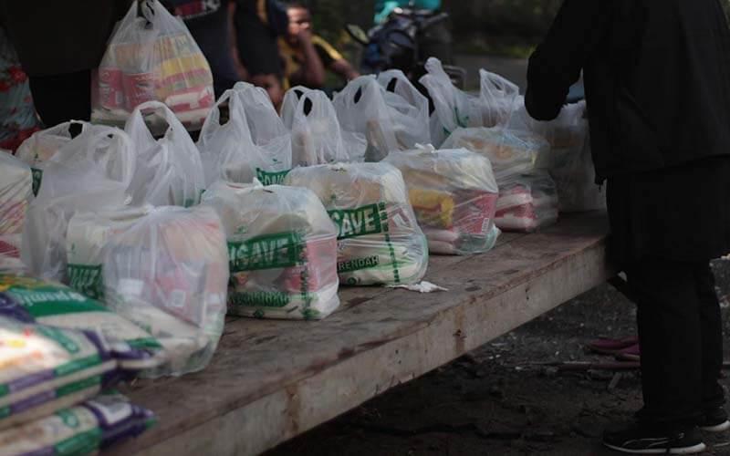 Bantuan bekalan makanan di KOA Sg. Relang, Gombak [NAMAxMyCARE]