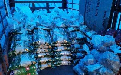 Bantuan bekalan makanan di PPR Beringin [NAMAxMyCARE]