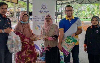 Bantuan bekalan makanan di PPR Hiliran Ampang [NAMAxMyCARE]