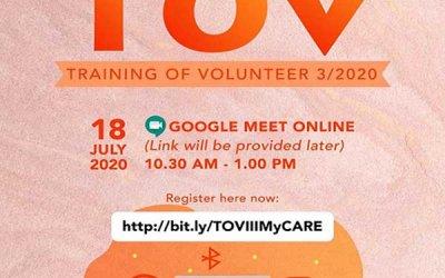 Training of Volunteers III/2020