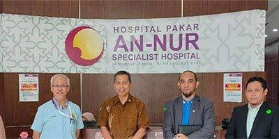Kunjungan ke Hospital Pakar An-Nur