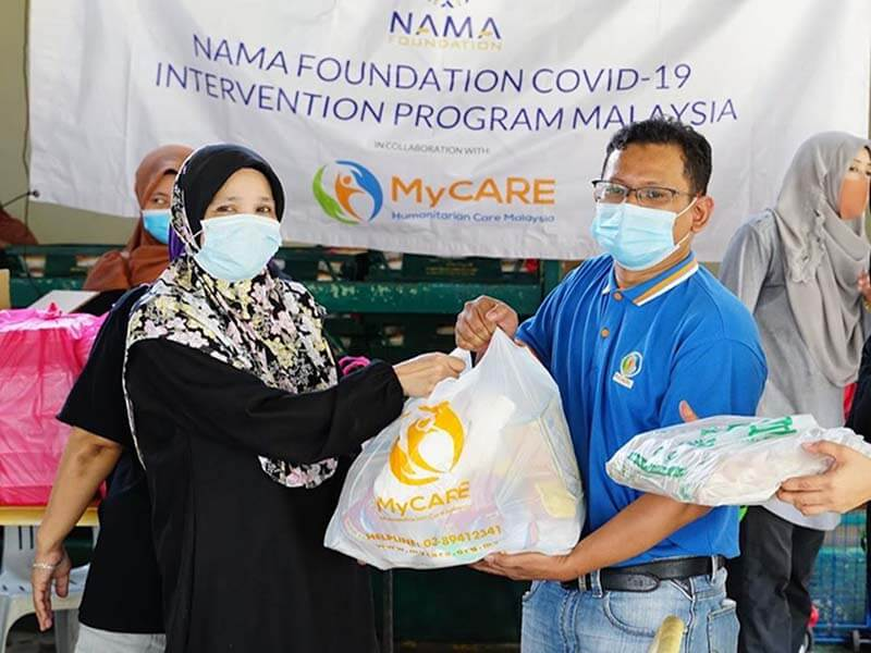Bantuan bekalan makanan di PPR Lembah Subang 1 & 2 [NAMAxMyCARE]