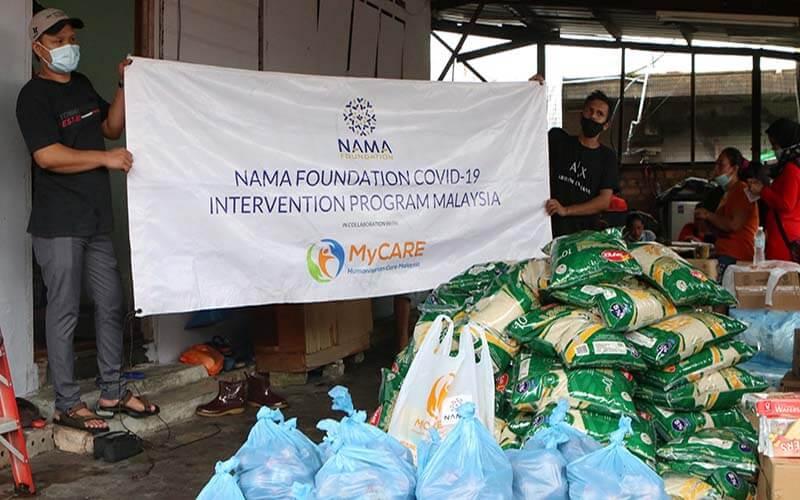 Bantuan bekalan makanan kepada pekerja Indonesia [NAMAxMyCARE]