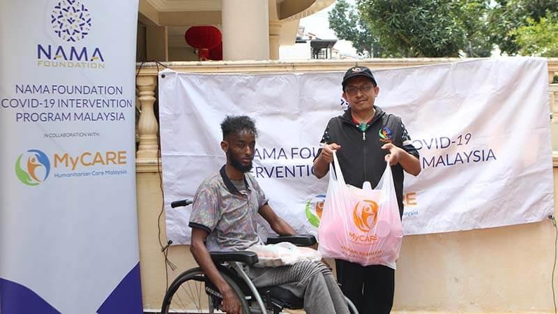 Bantuan bekalan makanan kepada pelarian Somalia [NAMAxMyCARE]