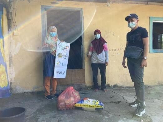 Bantuan untuk asnaf Sabah