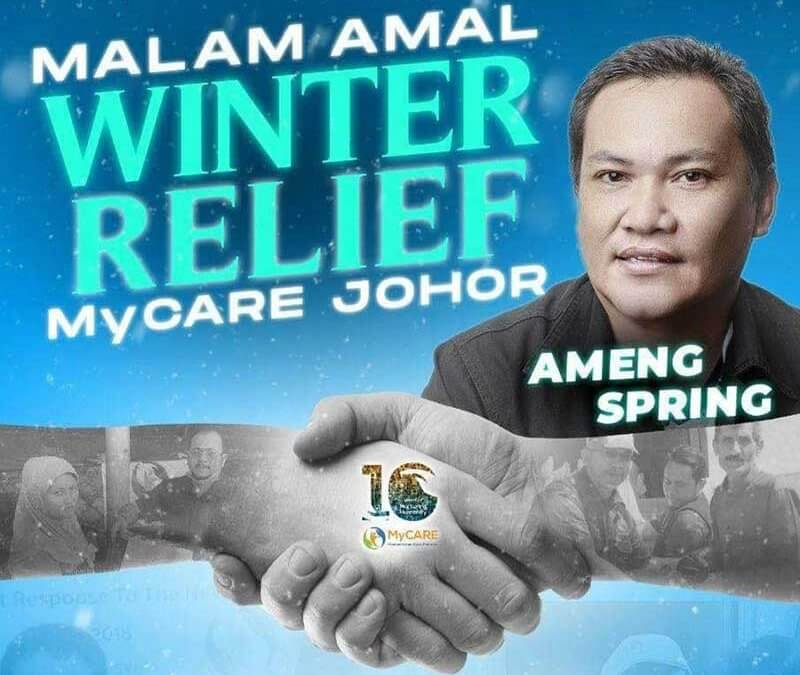 Majlis Makan Malam Amal Winter Relief MyCARE