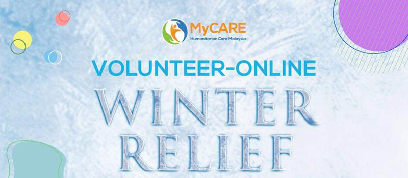 VOLUNTEER – ONLINE Winter Relief