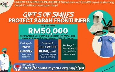 Gifts of Smiles: Protect Sabah Frontliners
