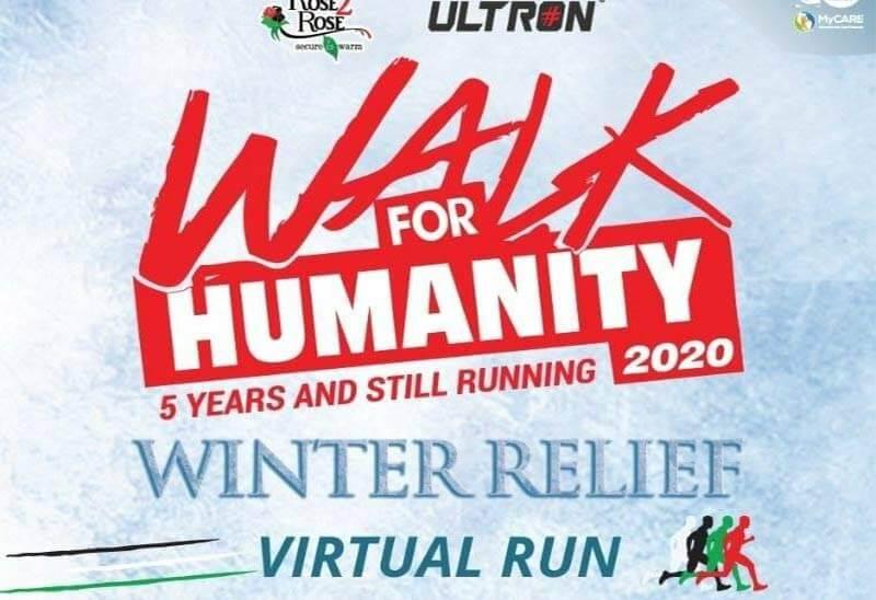Walk4humanity: Winter Relief Virtual Run
