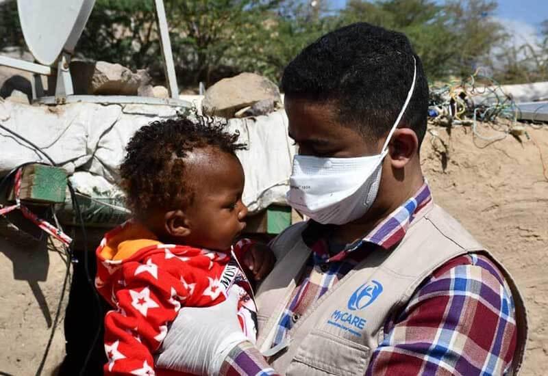 Agihan kelengkapan musim sejuk kepada pelarian Yaman [WR2020]